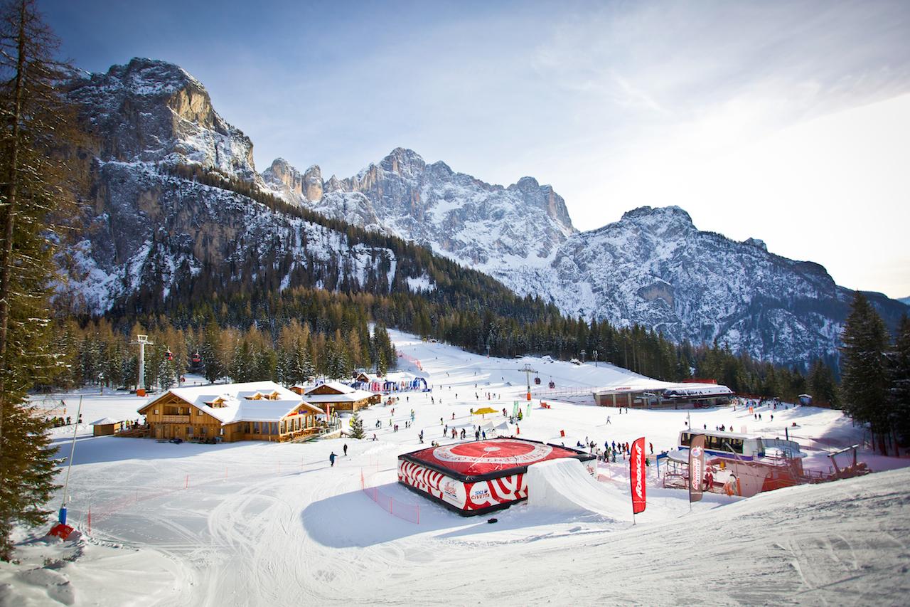 ski civetta snowpark